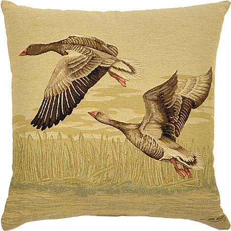 2 Geese - Clearance Cushion