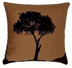 African Warriors - Tree - Clearance Cushion