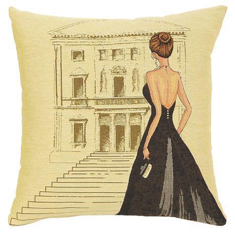 Black Dress Teatro - Clearance Cushion