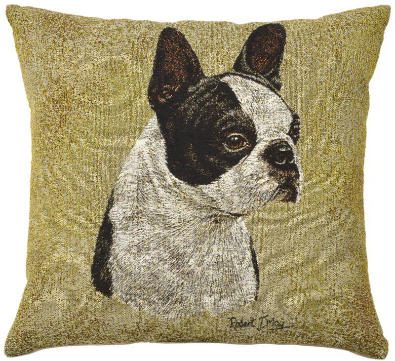 Portrait Dog-Boston Terrier