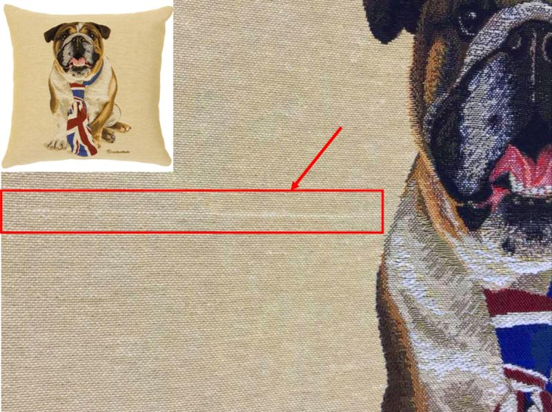 Winston - (British Bulldog with Tie) (S&S)