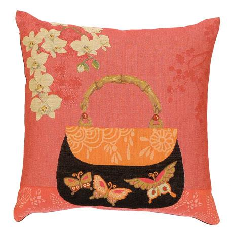 Butterflies & Orchids - Clearance Cushion