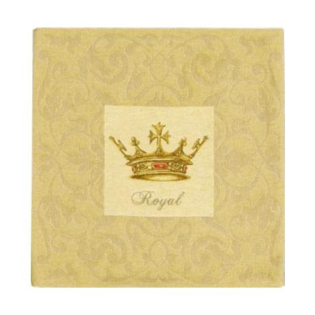 Crowns with Rubies - Clearance Cushion