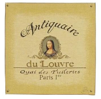 Antiquaire (Mona Lisa) - Clearance Cushion