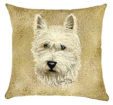 Portrait Dog - Westie