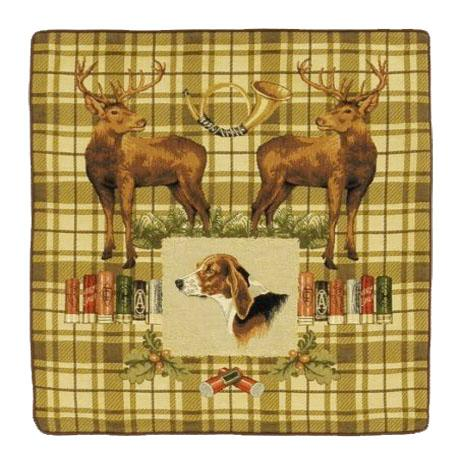 Dog & Stags -Clearance Cushion
