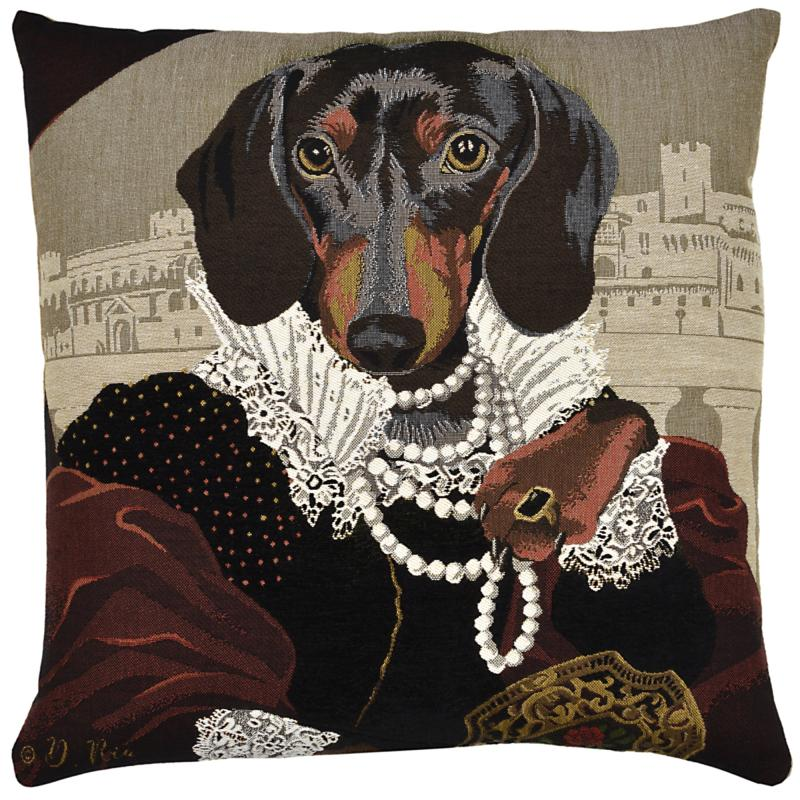 Frances (Dachshund), Square Cushion