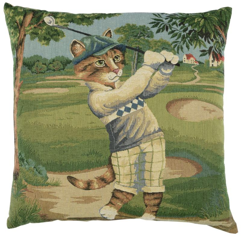 Golf Cat - Billy (blue)