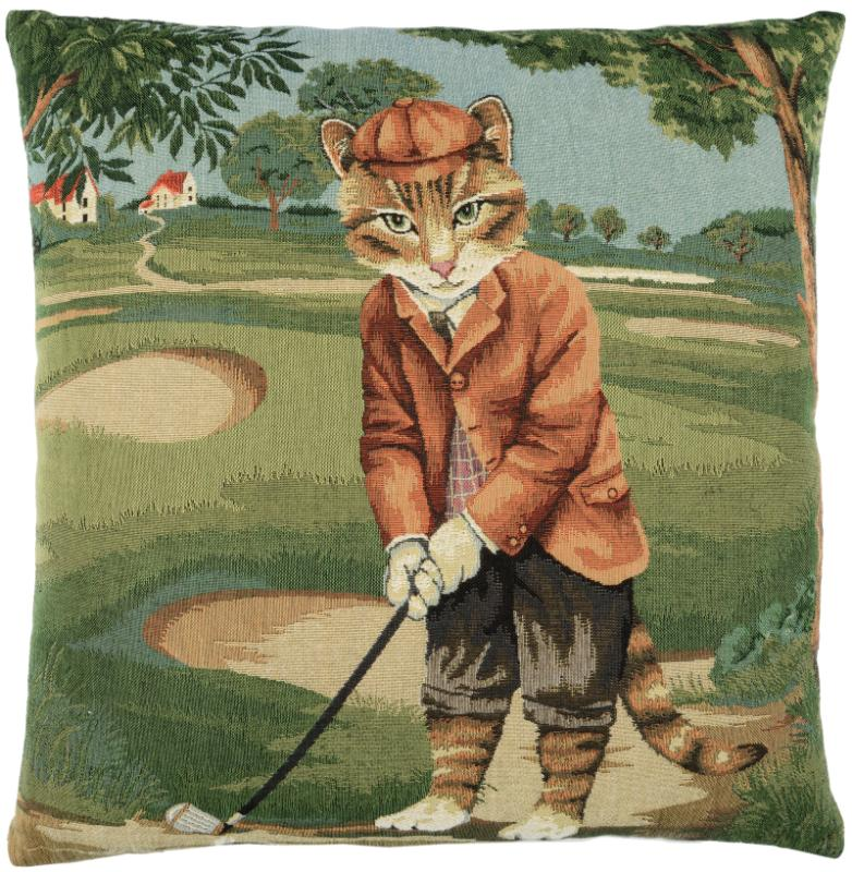 Golf Cat - Teddy (tan)