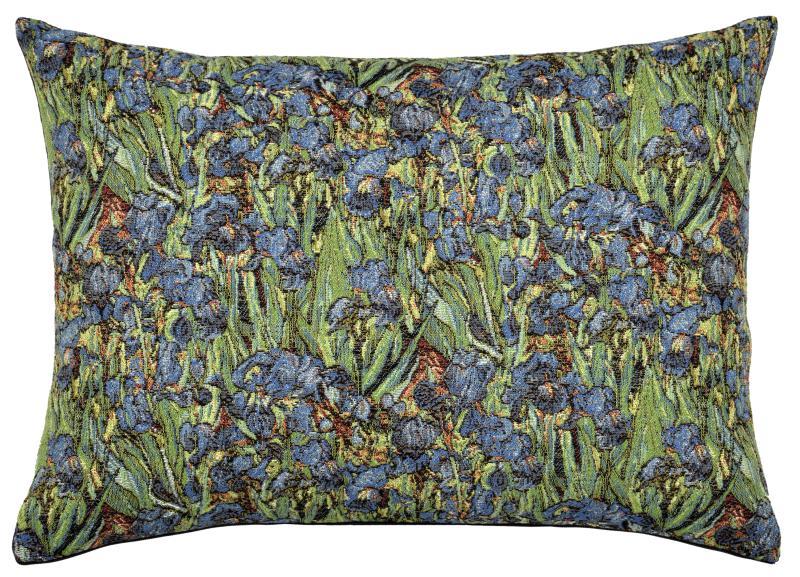 Irises - Rectangle, Cushion