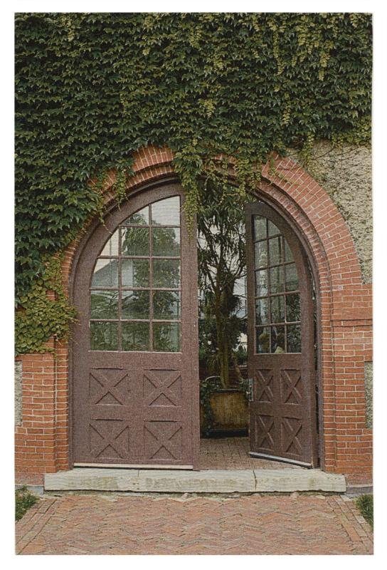Ivy Doorway