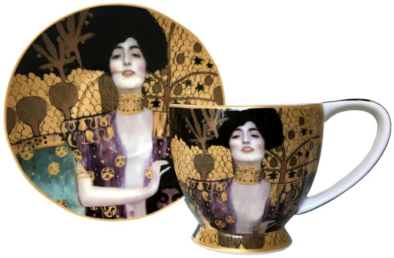 Judith (Klimt) Cup & Saucer Set