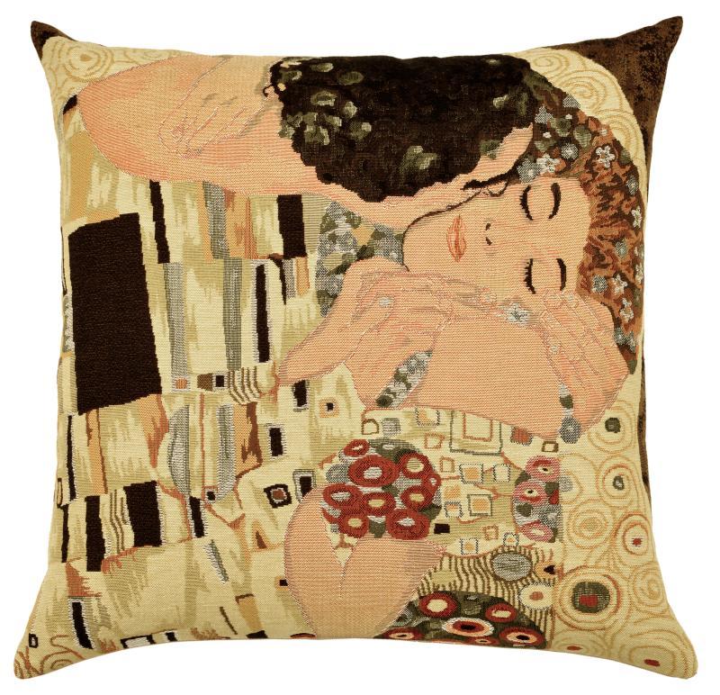 Klimt - The Kiss, Cushion