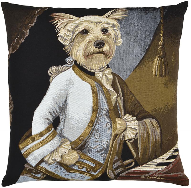 Louis (Terrier), Square Cushion
