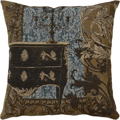 Louis XVI Chest Blue - Clearance Cushion