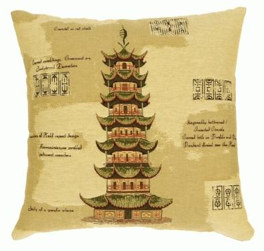 Multi-Tiered Pagoda - Clearance Cushion