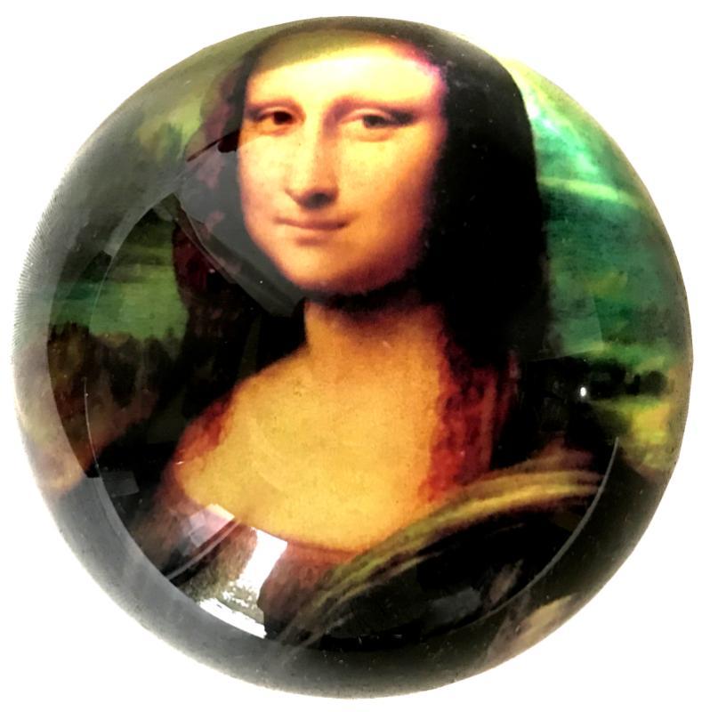 Paperweight - Mona Lisa (Da Vinci)