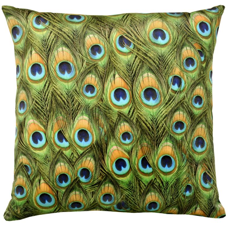 Peacock (Velvet) Cushion