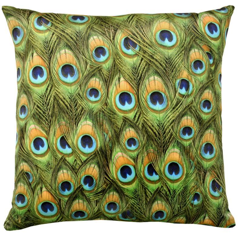 Peacock (Velvet) Cushion