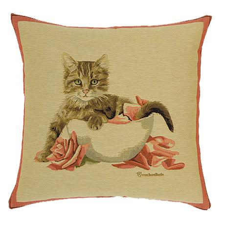 Rose Kitten Bowl - Clearance Cushion