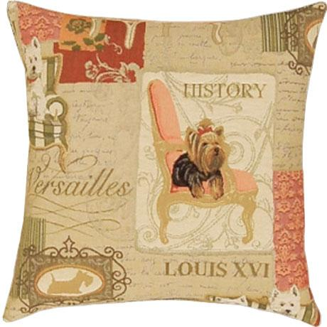 Royal Dogs Square - Clearance Cushion