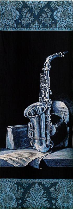 Saxophone #053 Wall hanging