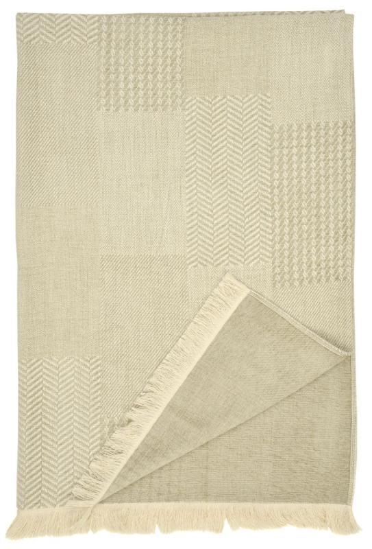 Sienna - Parchment, Throw