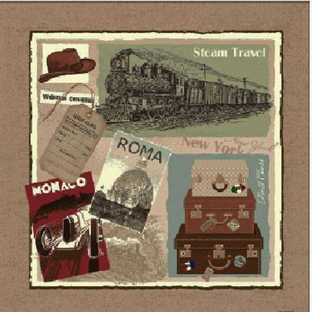 Steam Travel - Clearance Cushion