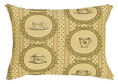 Tea Time Coordinate Rectangle - Clearance Cushion