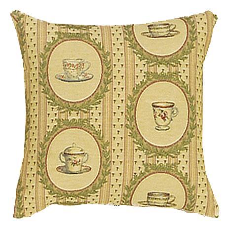 Tea Time Coordinate Square - Clearance Cushion