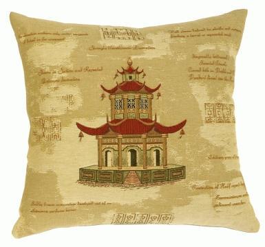 Three-Tiered Pagoda - Clearance Cushion