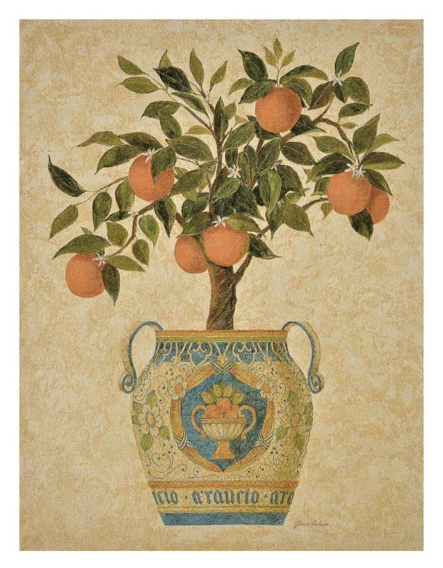 Topiary - Orange Tree