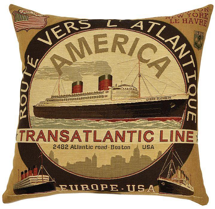 Transatlantic Lines - Brown Transatlantic Line