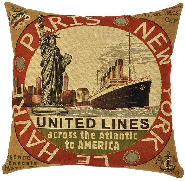 Transatlantic Lines - Red Transatlantic Line