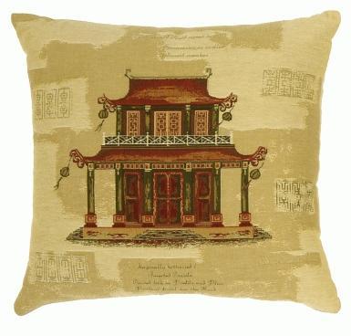 Two-Tiered Pagoda - Clearance Cushion