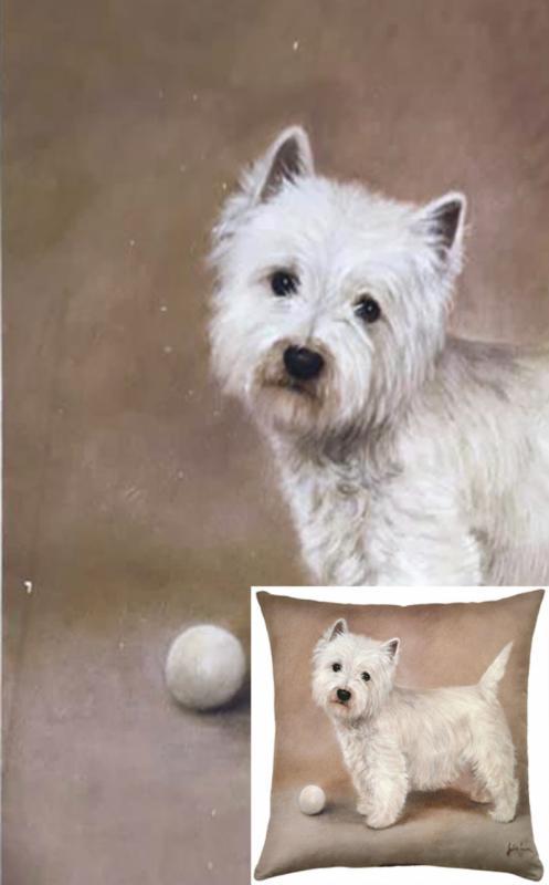Watercolour Dogs - Walter (S&S)