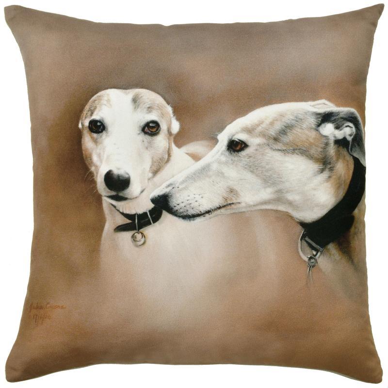 Watercolour Dogs - Greyhounds (Gilbert & Gretel)
