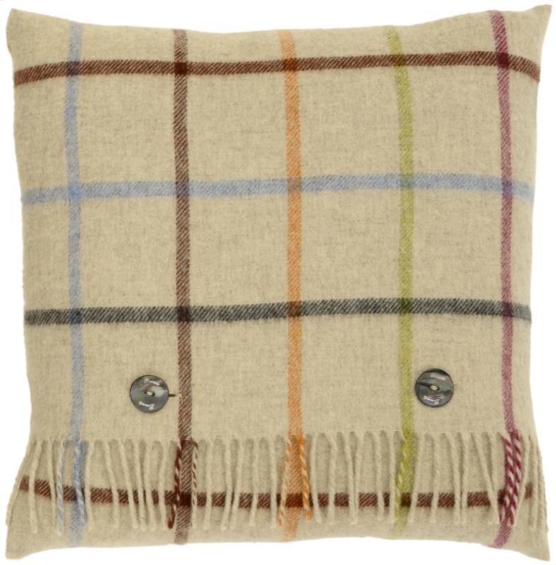 Windowpane Multi-Colour Cushion
