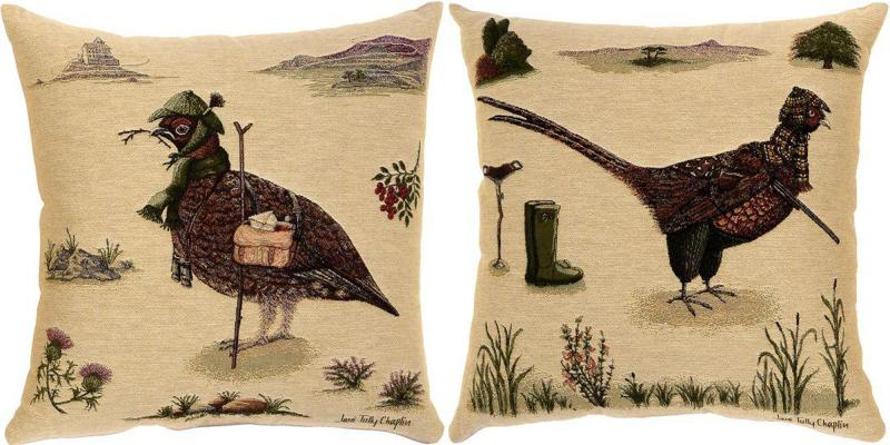 Woodland Friends - Mr Quail & Mr Pheasant