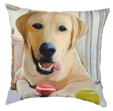 Yellow Labrador - Clearance Cushion