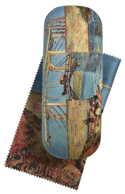 Langlois Bridge at Arles (Van Gogh), Spectacle Case