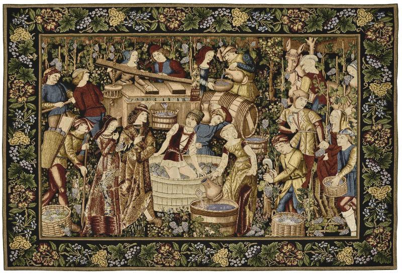 Les Vendanges - Medieval Grape Harvest