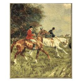 SALE: 266 (Two Horse Hunt)
