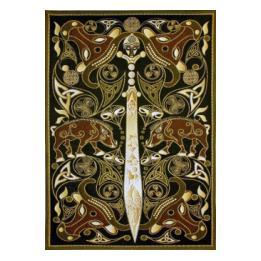 Celtic Sword #278 Wall hanging