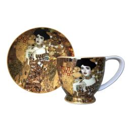 Adele Bloch-Bauer (Klimt), Cup & Saucer Set
