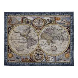 Antique Blue Map