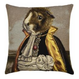 Basile (Guinea Pig), Square Cushion