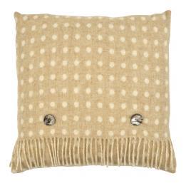 Beige Multi-Spot Cushion