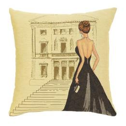 Black Dress Teatro - Clearance Cushion