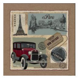 Bon Voyage - Clearance Cushion